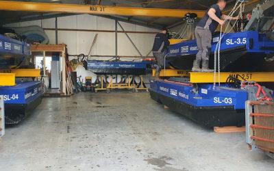 Nieuwe huisvesting van de vloot