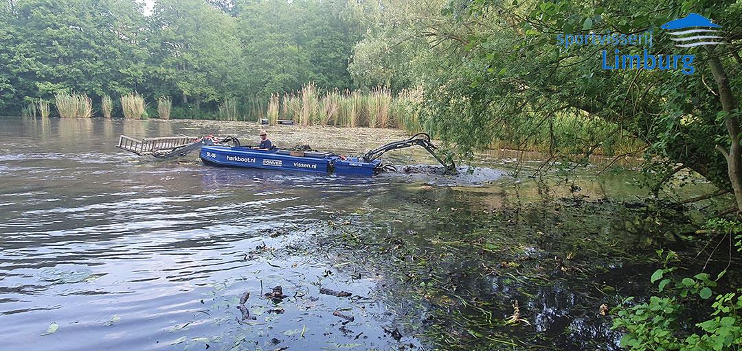 Harkboot actief in Limburg